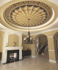 Dining Room Ceiling, Deland, Florida by Jeff Huckaby