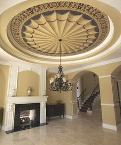 Dining Room Ceiling, Deland, Florida by Jeff Huckaby