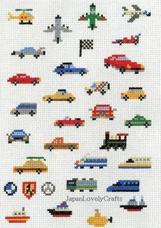 Makoto Oozu Collection - transportation (236×334) cars trucks vans taxi trains trams racecars airplanes jets planes helicopter boats ships yellow submarine bmw mercedes checkered flag