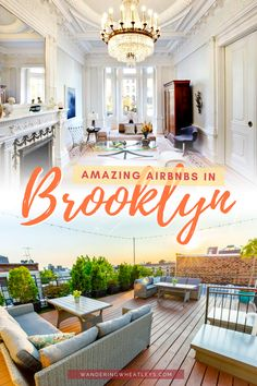 Are you looking for fabulous places to stay in Brooklyn, New York? Here are 12 Amazing Airbnbs in Brooklyn + the top things to do in Brooklyn during your New York vacation! I where to stay in Brooklyn I accommodation in Brooklyn I Brooklyn accommodation I Airbnbs in New York I accommodation in New York I where to stay in New York I Brooklyn Airbnbs I USA travel I places to stay in New York I things to do in New York I #NewYork #USA #Brooklyn