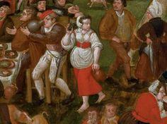 Entourage de Pieter Balten (Anvers 1526-1584) A Flemish kermesse, oil on panel, circle of Pieter Balten.