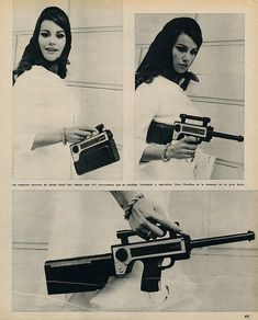 """Claudine Auger.  Maybe I should post this on my """"Great gift ideas"""" board."""