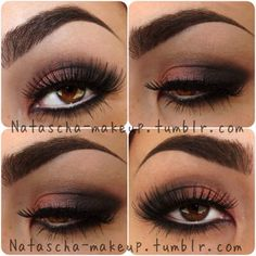 Got brown eyes? This is perfect for a party or an formal occassion