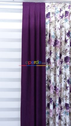 Desenli Fon Perde 554874 Kombinli Home Curtains, Curtains Living, Gypsum Wall, Rideaux Design, Teal Living Rooms, Color Lila, Diy Crafts For Gifts, African Dresses For Women, Pink Room