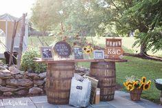 Lodge at Raven Creek Tent Wedding Benton, PA