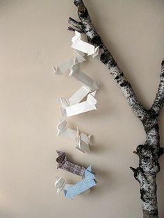 Doxie Origami #dachshund