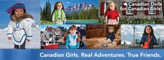 Maplelea™ is a distinctly Canadian play experience featuring a collection of premium play dolls that celebrate our country's spirit and identity. Northern Canada, Canadian Girls, True Friends, Girlfriends, Adventure, Dolls, Celebrities, News, Real Friends
