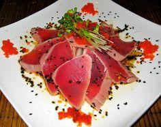 Tuna Sashimi  Sesam  Sprouts