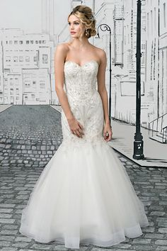2cf5a895775 Wedding gown by Justin Alexander. Bridal Wedding Dresses