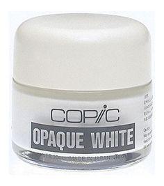 Copic Pigment Jar-30 cc/Opaque White