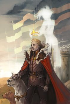 King Alistair and Grey Warden