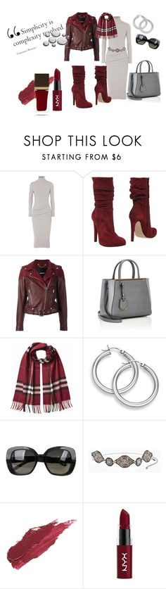 """Simplicity"" by asubtil ❤ liked on Polyvore featuring James Perse, Jolie By Edward Spiers, Diesel, Fendi, Burberry, Bottega Veneta, Chico's, Lily Lolo, NYX and Tom Ford"