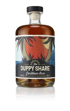 B&B Studio has created the identity for new rum brand The Duppy Share.
