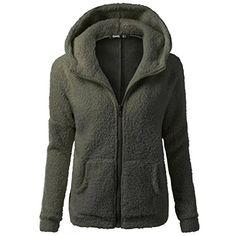 Product review for Women Winter Warm Hooded Fleece Plush Jacket Wool Zipper Sweater Pocket Coat.  - Features: 1.It is made of high quality materials,durable enought for your daily wearing  2.Stylish and fashion design make you more attractive 3.Perfect Match with your favorite shorts,leggings, black slacks, denim jeans, etc 4.Great for Daily,Casual,I am sure you will like it! Product...