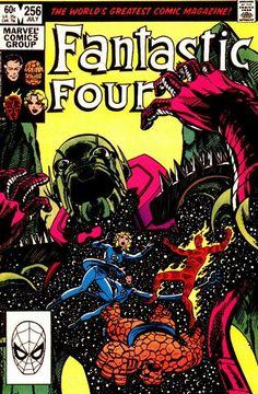 Fantastic Four #256.