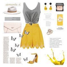 """""""Untitled #226"""" by samantadalipi on Polyvore featuring Temperley London, Steve Madden, GUESS, Kate Spade, Givenchy, Bloomingdale's and rag & bone"""