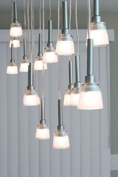 DIY Several Chandeliers.... Mini-Pendant Chandelier Made From IKEA Lamps style