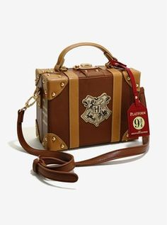 31 Things That'll Make You Say, Why Don't I Own That Already? Harry Potter Luggage Purse