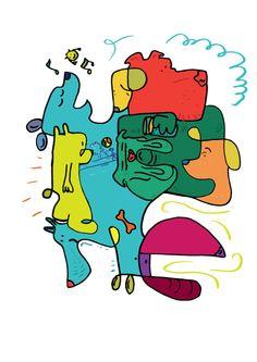 Dog doodle - Ignacio Barceló