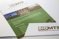 Folletería BioMTS, material publicitario. www.biomts.cl