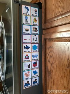 Visual schedule cards for toddlers, preschoolers, and children with special needs. This free printable has 22 schedule cards that help children with routines. Daily Routine Chart For Kids, Charts For Kids, Toddler Routine Chart, Daily Routines, Daily Routine Schedule, Preschool Schedule, Toddler Schedule, Schedule For Toddlers, Montessori Toddler
