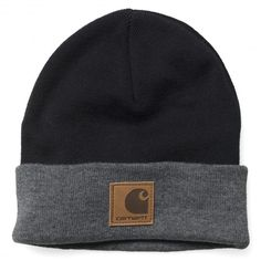 Carhartt Mason Watch Cap Beanie black bonnet à revert grey 25,00 € #carhartt #carharttwip #carharttworkinprogress #workinprogress #bonnet #bonnets #beanie #beanies #skate #skateboard #skateboarding #streetshop #skateshop @PLAY Skateshop