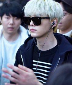 He looks like such a bad boy but he's such a grumpy sweetheart xD Min Yoongi Bts, Min Suga, Jimin, Suga Suga, Dream Boy, Bts Fans, I Love Bts, Kpop, Daegu
