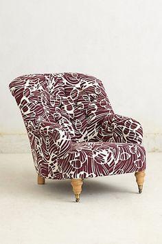 Porridge Corrigan Chair @Anthropologie | treschicnow.com #decor