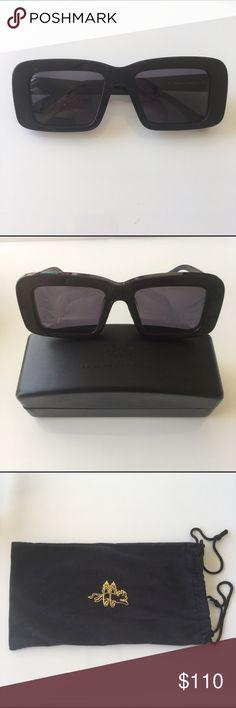 b8474a61efc Selling this Karen Walker Sir Bookie Sunglasses on Poshmark! My username  is  crissycg.