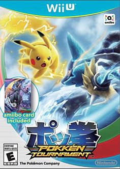 Pokken Tournament - updated boxart