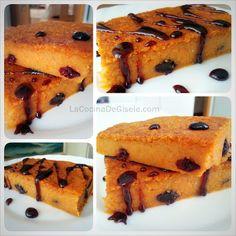 La cocina de Gisele: Torta de Auyama (Calabaza) tipo quesillo