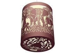 aanbiddelijke lampion uit kantpapier DJECO | kinderen-shop Kleine Zebra