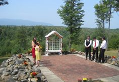 This isn't a photo we took but it is a great photo of the view at Mountain View in Jaffrey, NH.We put our tents here! Jaffrey Nh, Country Style Wedding, Mountain View, New Hampshire, Tents, Great Photos, Great Places, Gazebo, Patio