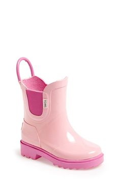 Darling TOMS rain boot for toddlers - 25% off #blackfriday http://rstyle.me/n/t7hnznyg6