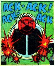 Airplane Ack Comic Book Sound Effect Books Comics