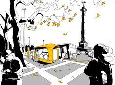 En 2012, 40 projets expérimentaux ont pris place dans l'espace public parisien. Des abri-voyageurs interactifs, des panneaux d'affichage offrant des informations en temps réel, des potelets de sécurité lumineux et déformables…