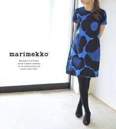【楽天市場】marimekko マリメッコ Kuurankukka/RARA クウランクッカ ワンピース・5244141334(全2色)(S・M・L)【2014秋冬】:Crouka(クローカ)