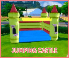 Jumping Castle Deco Conversion 2t4 at Nathalia Sims • Sims 4 Updates
