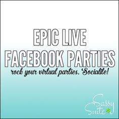 The best Direct Sales online Facebook Party training course out there. Click to…