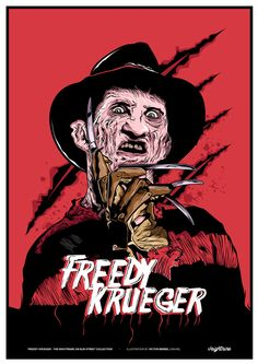 Freddy Krueger by Victor Berbel, via Behance