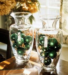 st patricks decor using green ( and gold balls)  or rainbow selection would work as well