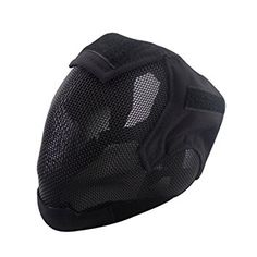 Coxeer Airsoft Mask Full Face Mask War Game Steel Mesh Protective Mask - Material: Low-carbon Steel Dimension: Weight: Package Includes: 1 x mask Note: - There might be a little color difference due to the monitor, camera or other factors, . Airsoft Full Face Mask, Airsoft Helmet, Airsoft Mesh Mask, Fencing Sport, Mesh Fencing, Fencing Mask, Paintball Mask, Head Mask, Half Face Mask