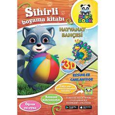 MagicBook Hayvanat Bahçesi Sihirli Boyama Kitabı