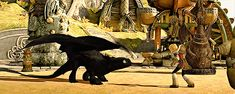 Toothless being cute and all. #Toothless #cutie #httyd