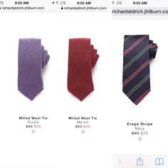 #ties on #sale while supplies last. Shop now, save now. #jhilburn #clearance #clothingformen #fashionformen #menswear #mensstyle #mensfashion #mensclothing http://richardaldrich.jhilburn.com