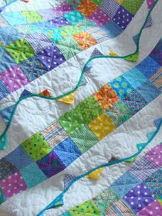 QuiltBee: Evie's quilt, by Linda & Jane