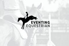Horse Logo Eventing Equestrian by leahsuzane on @Graphicsauthor