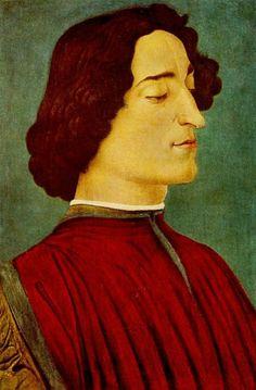 BOTTICELLI, Sandro  (1444/45-1510):  ~  'Giuliano de' Medici', 1478