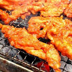 テジプルコギ(豚のコチュジャン焼き) - 7件のもぐもぐ - @秩父キャンプ炭火で美味しい豚のコチュジャン焼き돼지고기 고추장구이 by kintoon