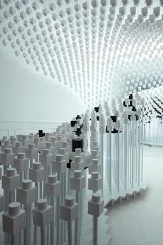 Amazing pop up design centred around the fragrance, Odin Fragrance store in NYC's East Village